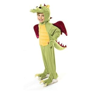 🐲 NEW Green Dragon Costume ~ Sz 7 - 8